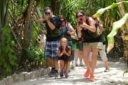 Cozumel Mayan laser Tag