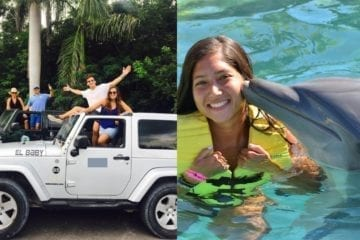 Island Jeep Tour Cozumel and swim with dolphin