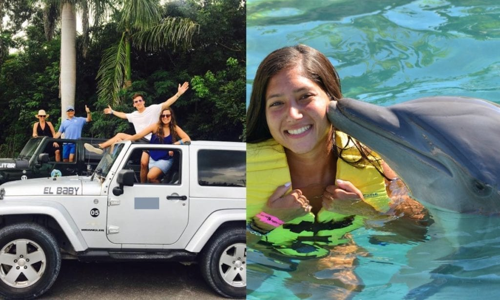 Island Jeep Tour Cozumel and swim with dolphin