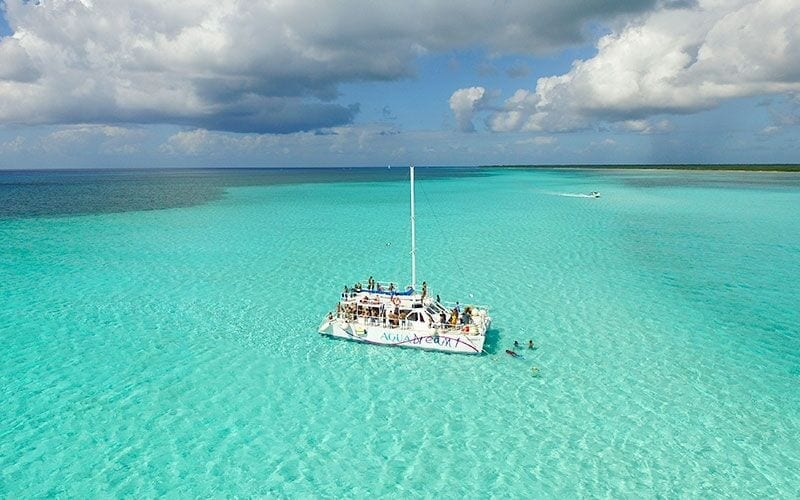 Catamaran El Cielo Cozumel