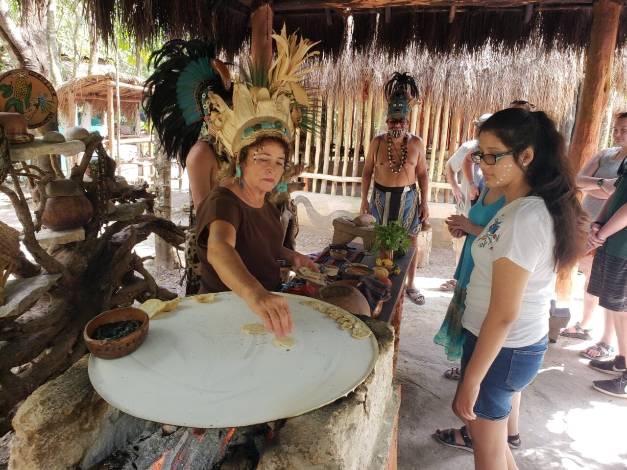 Cozumel Cultural Jeep Tour with Mayan Village and Mexican Lunch