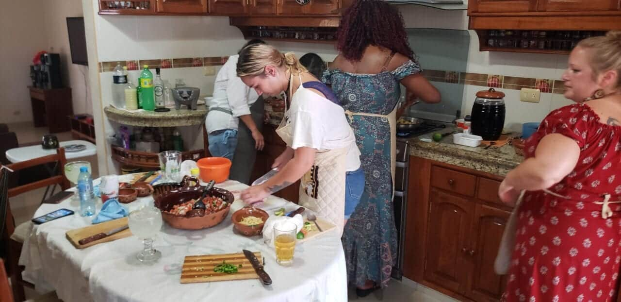 Traditional Family Kitchen in Cozumel