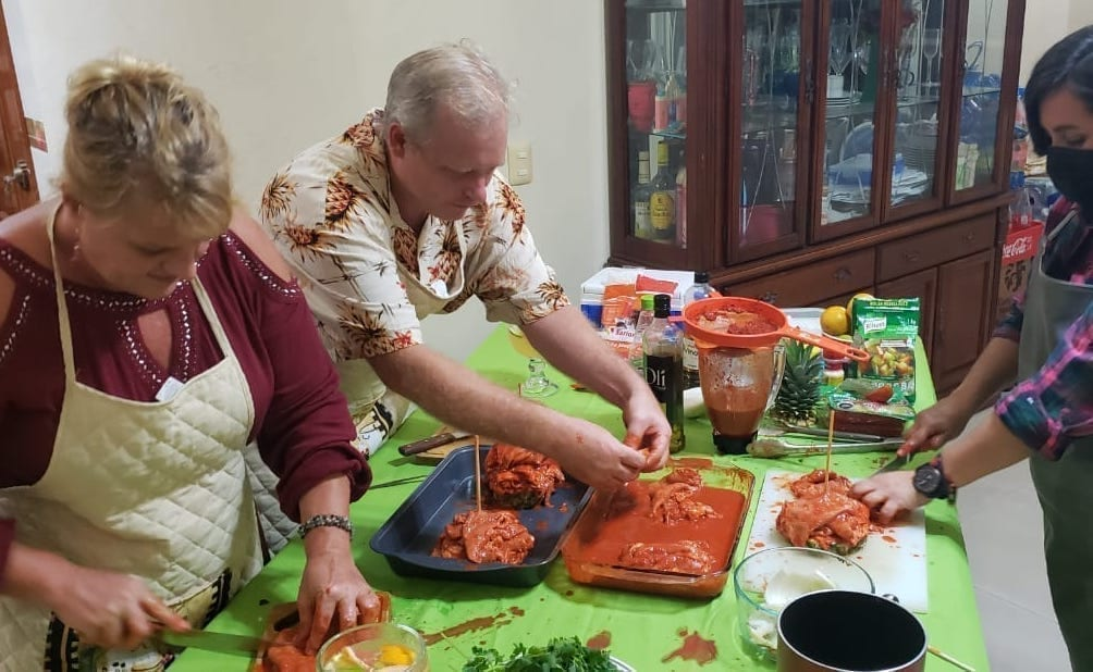 Private Mexican Trompitos Cooking Class in Cozumel